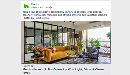 Houzz at a glance