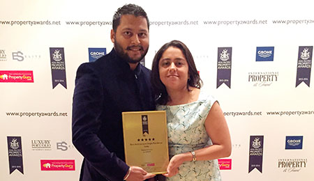 Asia Pacific Property Award 2015 (Weekend Home)