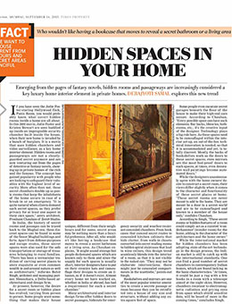 Times Of India- LUXE LIVING SEP 2013