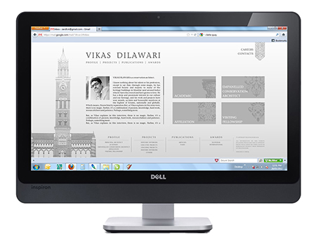 Vikas Dilawari Website